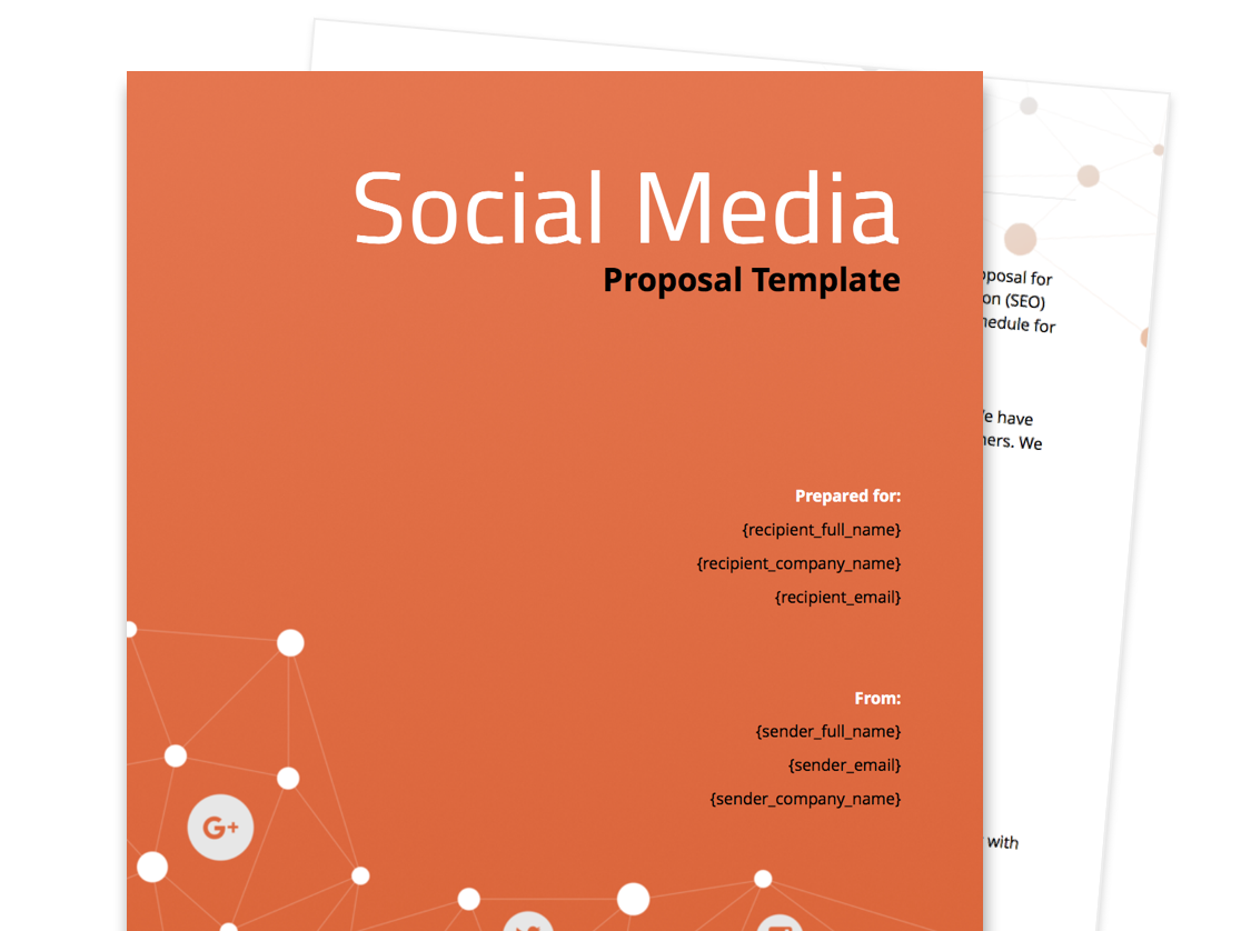 Free Business Proposal Templates – Business Propsal Template