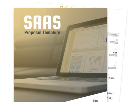 proposal templates professional project proposal template