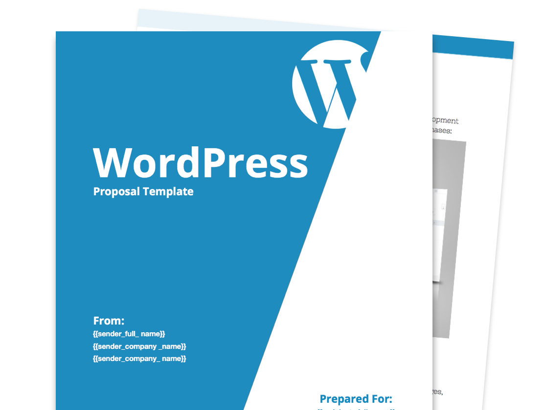 Wordpress Proposal Template