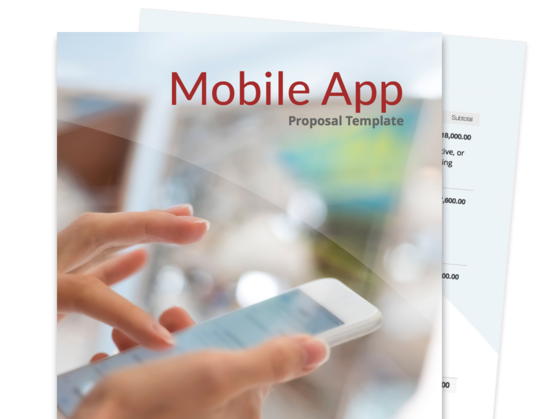 Mobile App Proposal Template Proposable