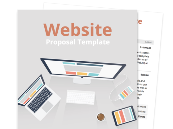 Website Proposal Template  Proposal Layouts