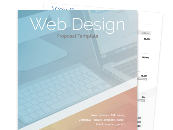 web design proposal template proposable
