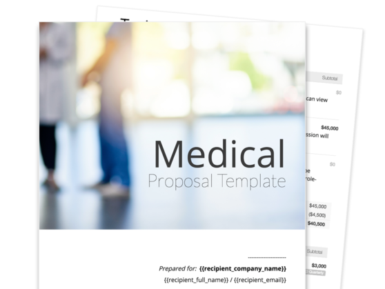 Medical Proposal Template
