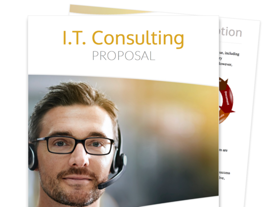 Proposable  It Consulting Proposal Template