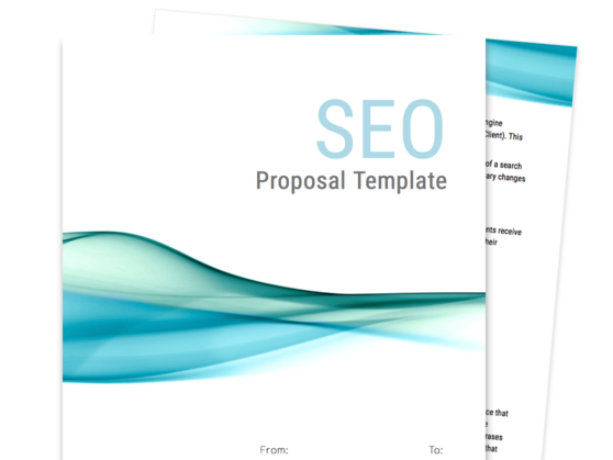 SEO Proposal Template  Product Sales Proposal Template